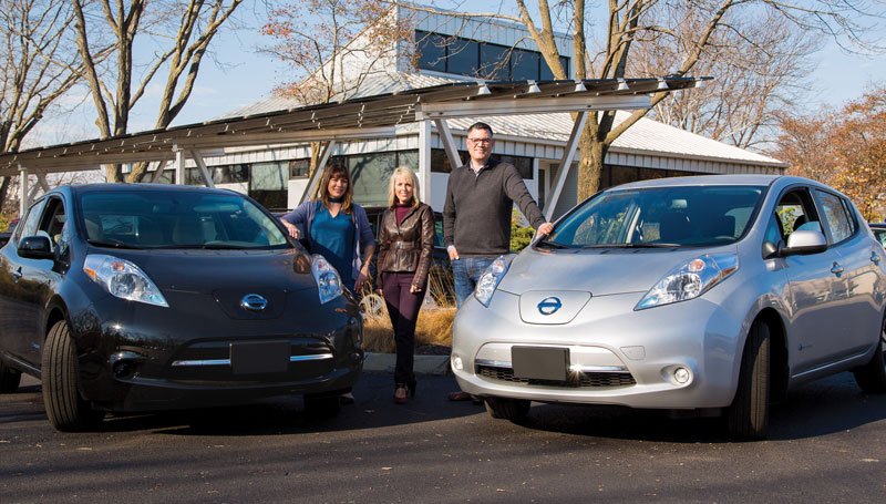 Acumium, a local software development and digital marketing company, took advantage of discounted all-electric Nissan LEAF® vehicles.