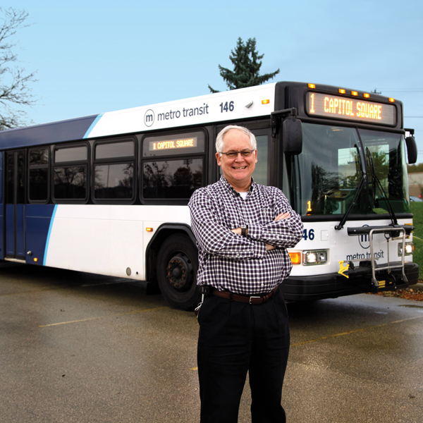Chuck Kamp, City of Madison Metro Transit general manager