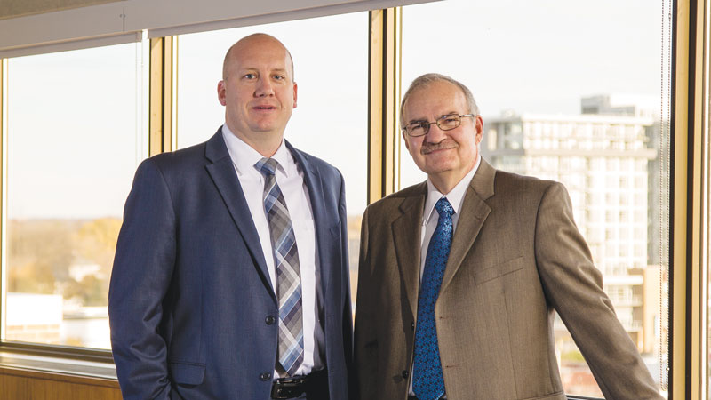 Jeff Keebler, President and Chief Executive Officer, and Gary Wolter, Chairman