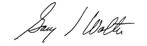 Gary Wolter signature