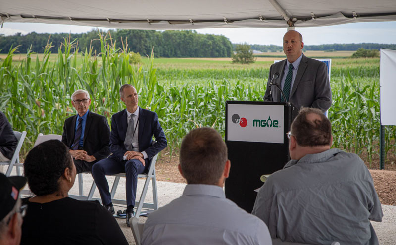 MGE Breaks Ground on Two Creeks Solar