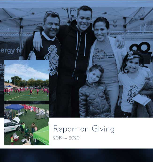 MGE publishes Report on Giving