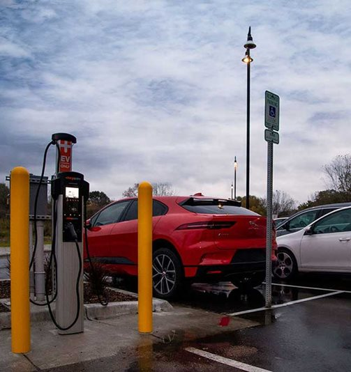 MGE Expands Public Charging for Electric Vehicles